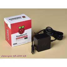 Raspberry Pi 4 Official USB-C táp 5.1V 3A fekete