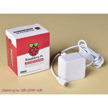 Raspberry Pi 4 fehér tápegység