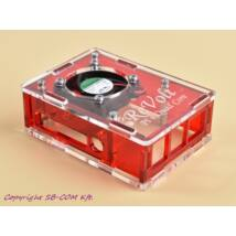 Revolt Pi 4 Cool box - Red
