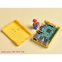 Raspberry Pi 3 Lego fanatic box - yellow