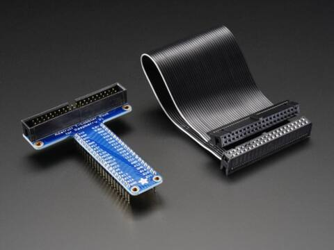 GPIO - próbapanel összekötő T-KIT 2x20 pólus (A2028) páratartalom érzékelő+ ellenállás (A385)