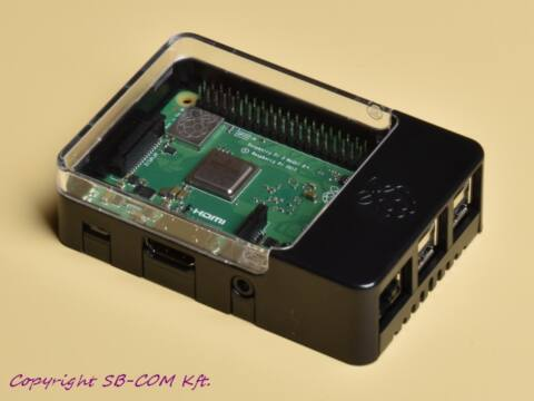 Official Raspberry Pi HAT ház pi 3 model b+ alaplappal