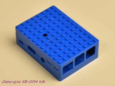 Raspberry Pi Lego fanatic box - blue