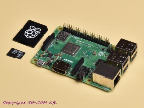 Raspberry Pi 3 model b plusz és 16GB sd kártya