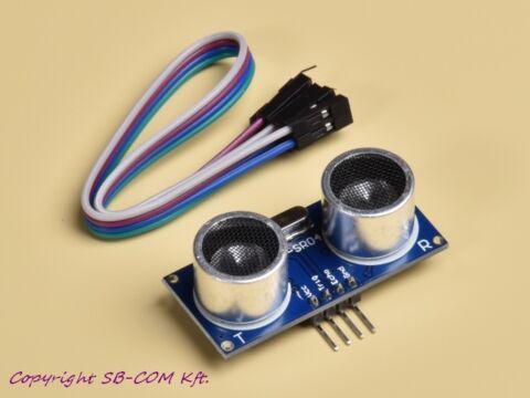 HC-SR04 Ultrahangos távolságmérő modul