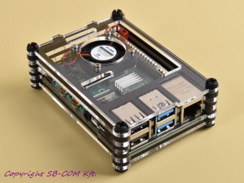Zebra Case for Raspberry Pi 4