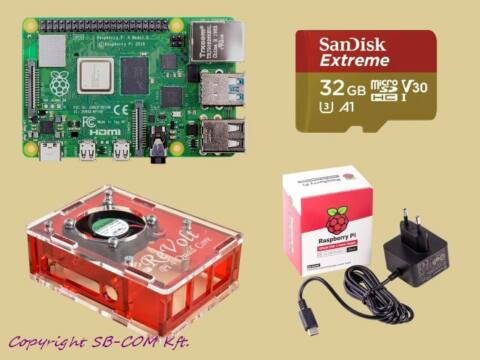 Revolt Pi 4 extreme KIT 8GB RAM / 32GB SD