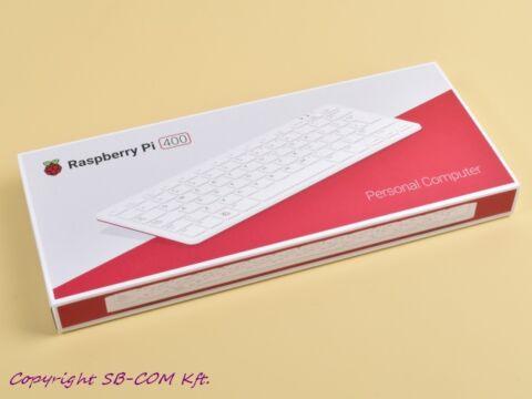 Raspberry Pi 400 PC dobozban