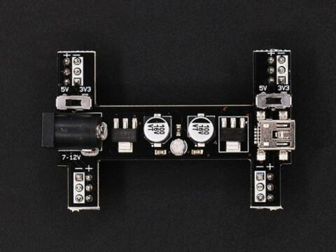 EF03043 Black wings 3,3V/5V Power breadboard adapter BDP