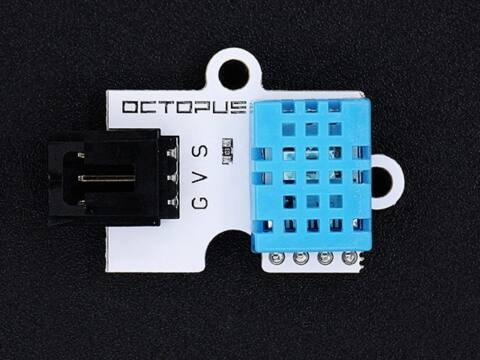 Octopus hőmérséklet és páratartalom szenzor