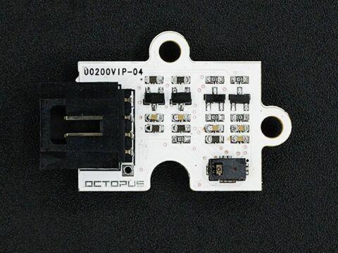 Octopus integetés érzékelő modul