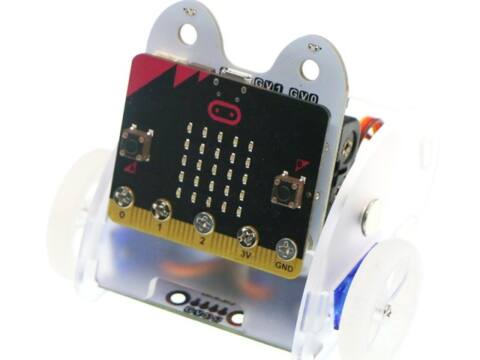 EF08201 ring:bit v2 robotkocsi micro:bit-hez