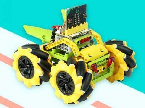 EF08211 micro:bit Wonder Rugged Car