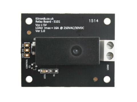 K5101 Kitronik Relay Control Breakout Board