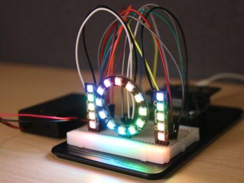 ZIP LED csomag Kitronik Inventors kithez
