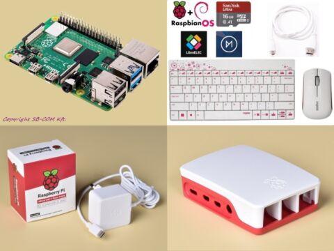 Raspberry Pi 4 desktop kit magyar verzió
