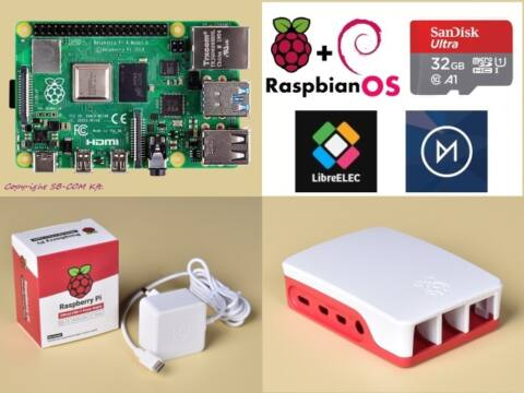 Raspberry Pi 4 Official KIT 2GB RAM / 32GB SD