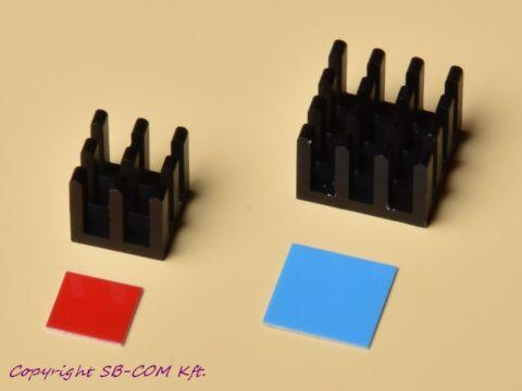 SB-Com Raspberry Pi Plus hűtőborda készlet