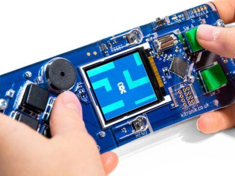 Kitronik ARCADE MakeCode Arcade-hoz