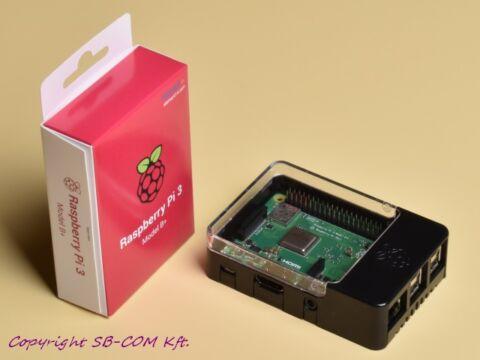 Raspberry Pi 3 model B+ (2018) Pi-HAT házzal
