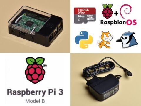 Raspberry Pi 3 tanuló csomag