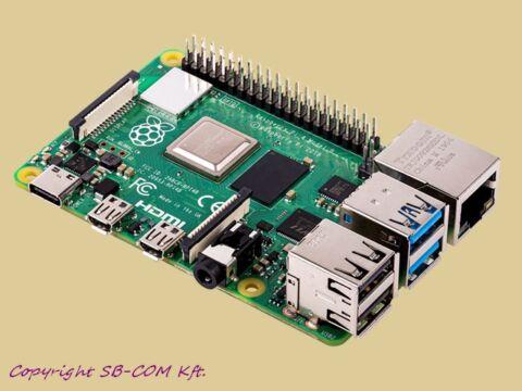 Raspberry Pi 4 model B 2GB alaplap