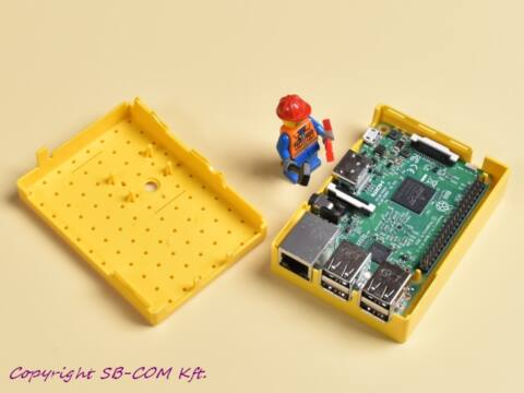 Raspberry Pi Lego fanatic box - yellow