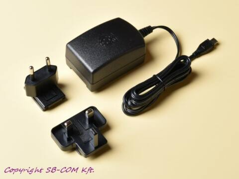 Raspberry Pi Official táp 5,1V 2,5A fekete